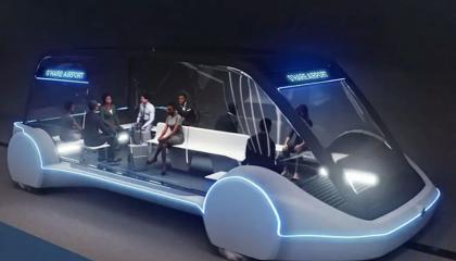 特斯拉与Boring Company合作打造12座电动面包车
